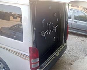 ماشین حمل پول ضد سرقت